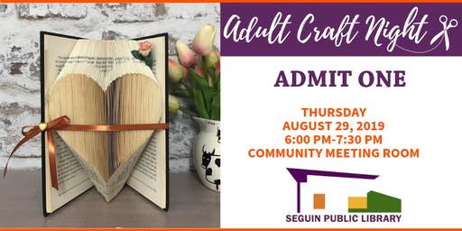 August Adult Craft Night