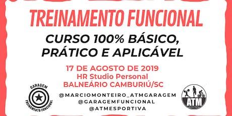 TREINAMENTO FUNCIONAL - 100% BÁSICO, PRÁTICO E APLICÁVEL. ingressos