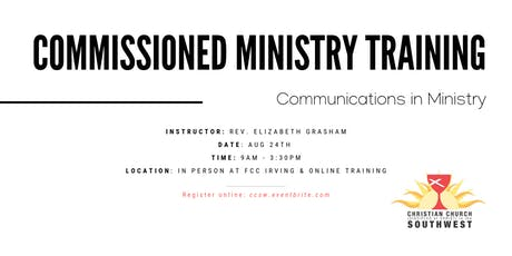 Communications in Ministry tickets