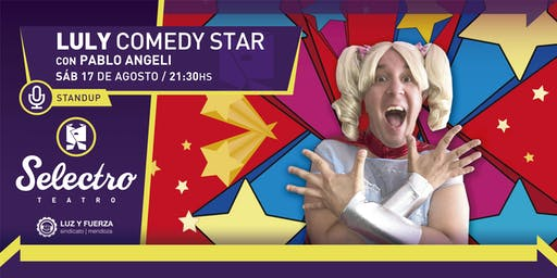 LULY COMEDY STAR - PABLO ANGELI