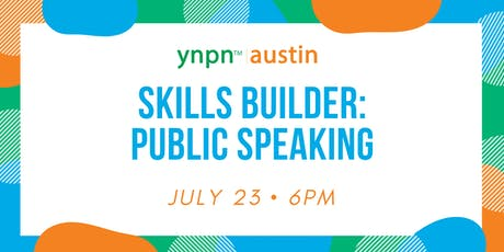YNPN Austin Skills Builder: Public Speaking tickets