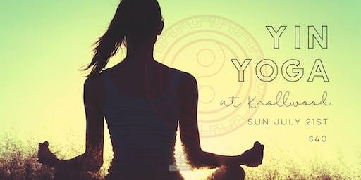 Yin Yoga at Knollwood