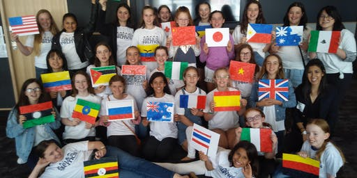 Camp United Nations for Girls Auckland 2019