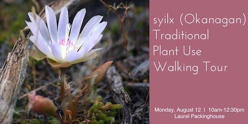 syilx (Okanagan) Traditional Plant Use Walking Tour