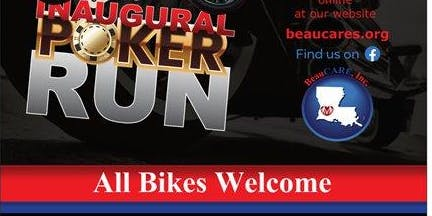 Inaugural Poker Run A FUNDRAISER FOR BeauCARE,  Inc.