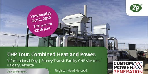 CHP Tour 2019 - Calgary, AB Combined Heat & Power Informational Day and Site Visit