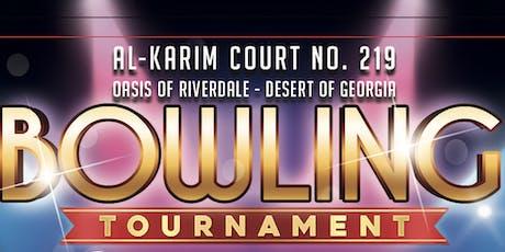 Al-Karim Court No. 219 Bowling Tournament tickets