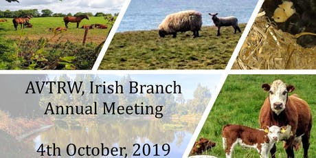 AVTRW, Irish Branch, Annual meeting tickets