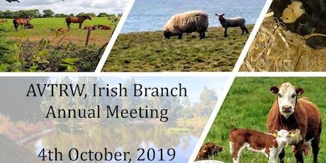 AVTRW, Irish Branch, Annual meeting tickets