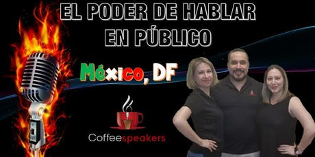"""El poder de hablar en publico """"Mexico DF"""" 28 de septiembre del 2019 tickets"""