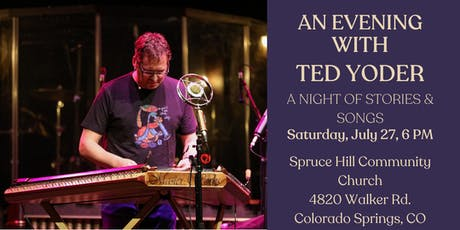 Colorado Springs welcomes Ted Yoder  tickets