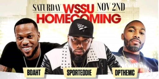 WSSU HOMECOMING LEGENDARY | 2 BALLROOMS, 2 PARTIES, 1 ROOF! W/BDAHT, SPORTEODIE & DP #WSSU
