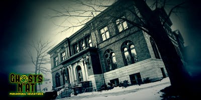 Ghost Hunt at the Andrew Carnegie Library & Music Hall | Carnegie, PA