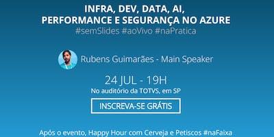 Meetup Azure Brasil -  Azure 360 Tour (TOTVS + Azure Brasil + MSFT)