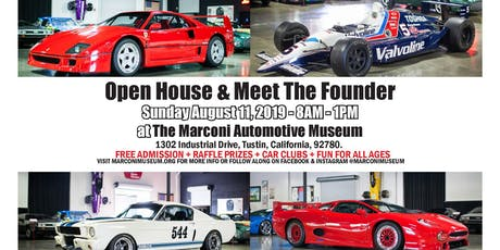 Open House & Meet The Founder tickets