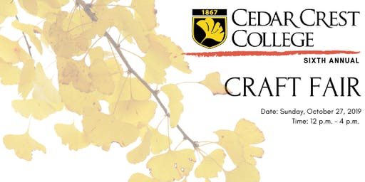 Craft Fair at Cedar Crest College