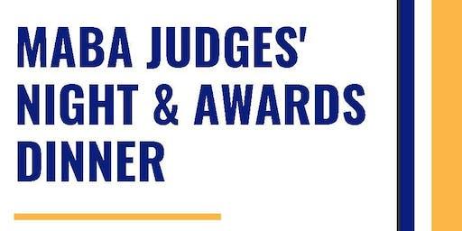 MABA JUDGES' NIGHT & AWARDS DINNER