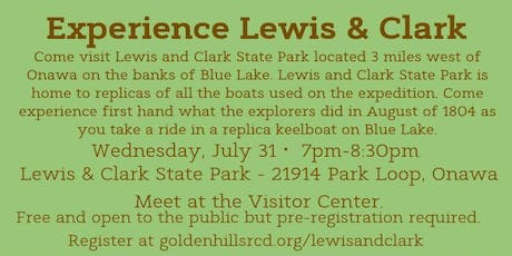 Experience Lewis & Clark tickets