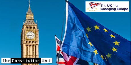 Parliament and Brexit: an end of term report tickets