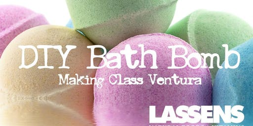 Bath Bomb Event Ventura