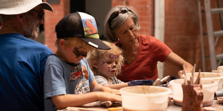 Youth Session 5: Family Clay - SAT 9:00am tickets