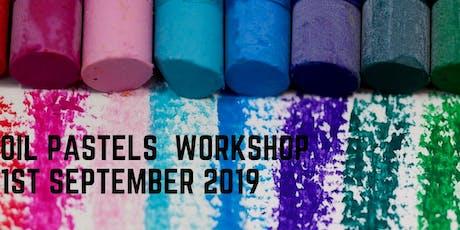 Oil Pastels Workshop @ Kids Art party billets