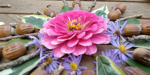 Wild Summer Days: Natural Art Week, Ink & Clay Printing