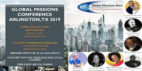 GLOBAL MISSIONS CONFERENCE - 2019 tickets