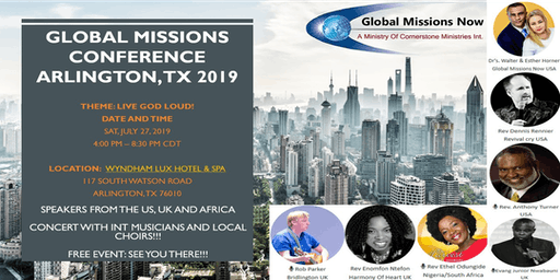 GLOBAL MISSIONS CONFERENCE - 2019