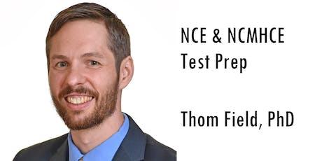 NCMHCE Test Prep (Aug/Sept, Saturday @ 3:00 PM EST) tickets