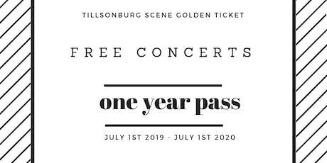 Tillsonburg Scene Yearly Concert Pass tickets