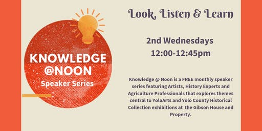 Knowledge @Noon with Susan Silvester, Artist