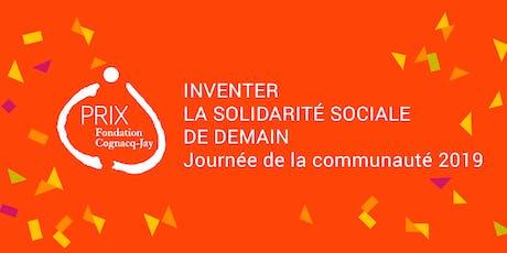 Journée de la communauté du Prix Fondation Cognacq-Jay 2019 billets