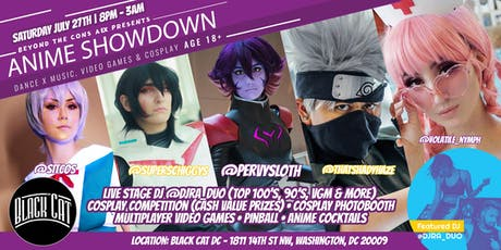 Beyond The Cons AEX - Anime Showdown (Otakon Afterparty) 18+ tickets
