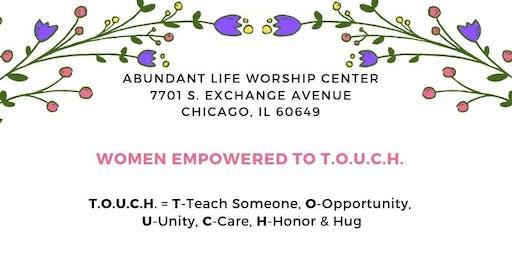 July Women Empowered to T.O.U.C.H.