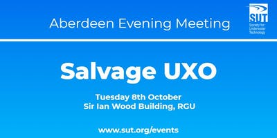 Aberdeen Evening Meeting - Salvage UXO