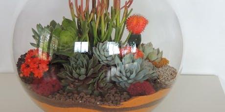Wine & Design: Enchanted Desert Garden Design Class tickets