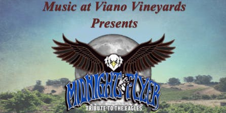 Music at Viano Vineyards w/ Midnight Flyer