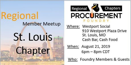 Greater St. Louis Member Meetup -  August 2019 tickets