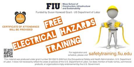 FREE Electrical Hazards Training tickets