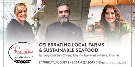 SABOR Seafood Festival 2019 - Food Day Canada Collaboration Dinner  tickets