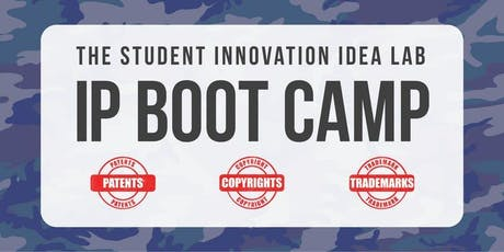 IP Boot Camp | Fall 2019 tickets