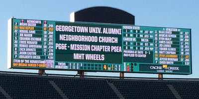 NorCal Hoyas: Annual A's Game - Tailgate and Ballgame