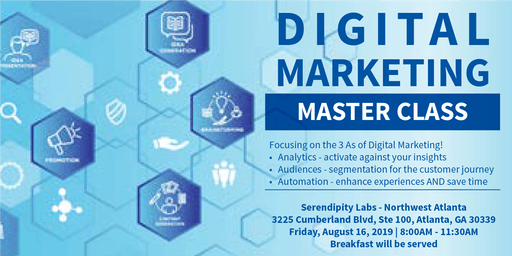 Master Class: The 3 As of Digital Marketing