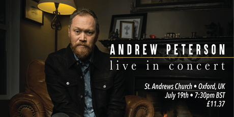 Andrew Peterson | Oxford, UK tickets