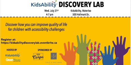 KidsAbility Discovery Lab tickets