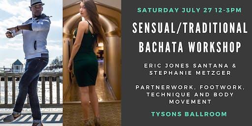 Sensual/Traditional Bachata Fusion Workshop