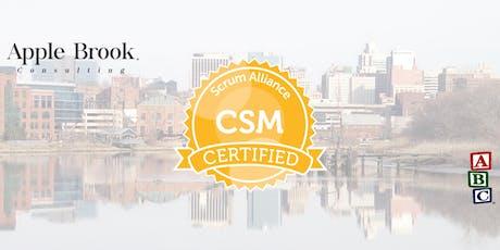 Certified ScrumMaster® (CSM) - Wilmington - September 26-27 tickets