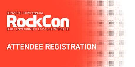 2019 RockCon | Built Environment Expo & Conference tickets