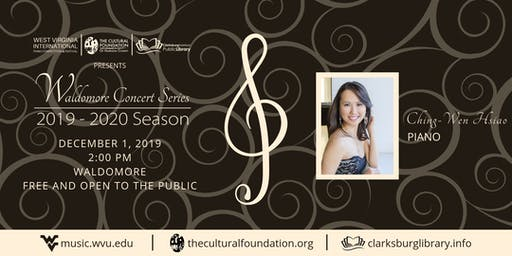 Waldomore Concert Series: Ching-Wen Hsiao